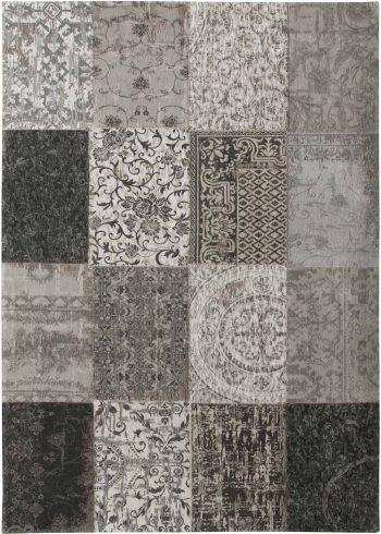 rugs Louis De Poortere LX8101 Vintage Black White