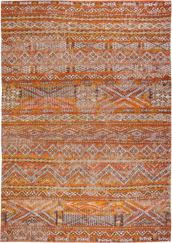 Louis De Poortere rug LX 9111 Antiquarian Kilim Riad Orange