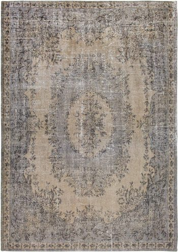 Louis De Poortere rug LX 9138 Palazzo Da Mosta Colonna Taupe