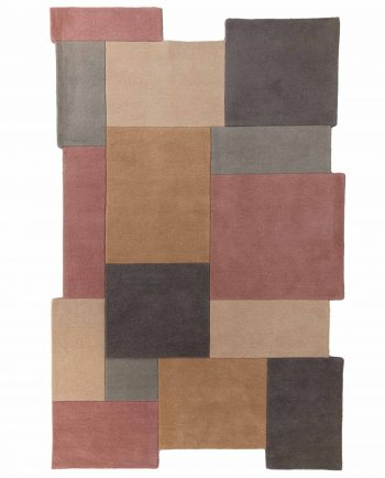 Anversa Rugs Abstract Collage Pastel 1
