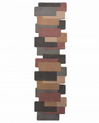Anversa Rugs Abstract Collage Runner Pastel Multi 1