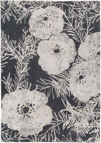 Louis De Poortere rugs Romo LX 8741 Lomasi Charcoal
