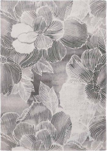 Louis De Poortere rugs Villa Nova LX 8755 Akina Carbon