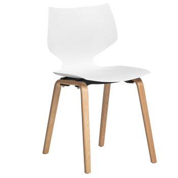 chair Anversa Barbara 962 white 1